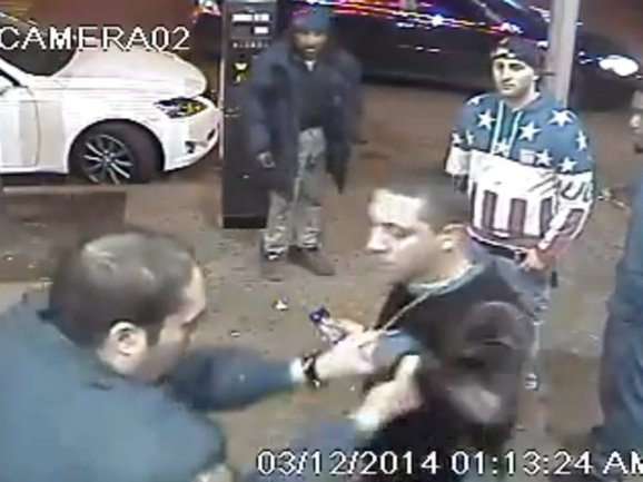 This is not how police are supposed to react to being filmed.