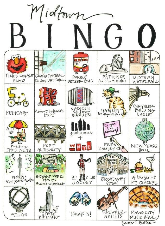 Midtownaissance Bingo: Our Latest Bingo Card Is For You, Midtown