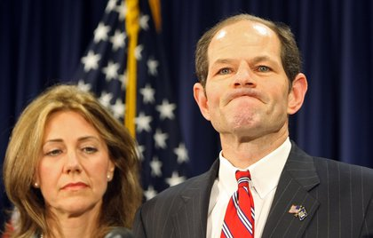 "On March 10, 2008, the day Spitzer announced he was <a href=""http://gothamist.com/2008/03/10/governor_spitze_1.php"">linked to a prostitution ring</a>.<br/>"