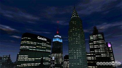 Algonquin skyline at night.