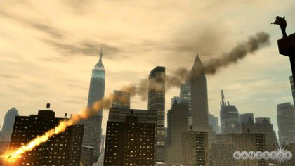 Okay, launching a rocket off a rooftop is crazy.