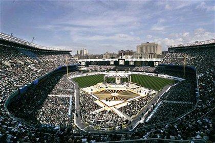 Papal Mass at Yankee Stadium