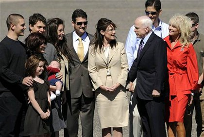 The Palins and McCains.