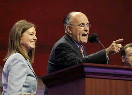 Giuliani work on his reactions.