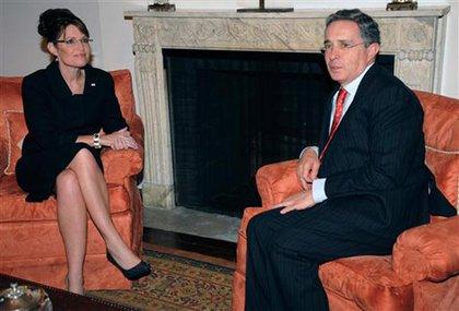 Palin and Uribe