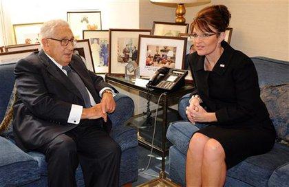 Kissinger and Palin