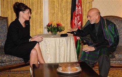Palin and Karzai