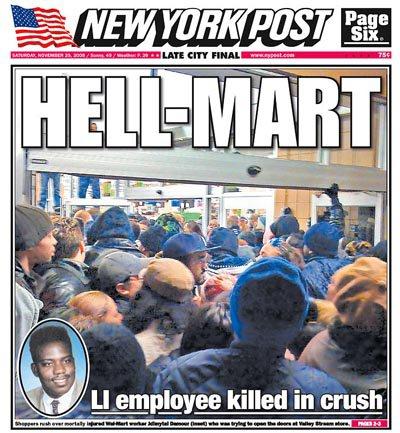 NY Post's cover