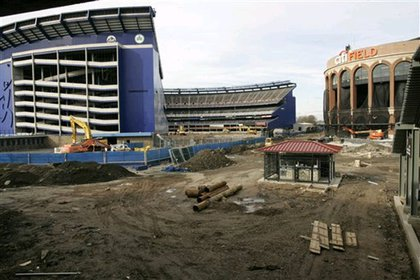 Shea Stadium and Citi Field-- which has a subway entrance in between?