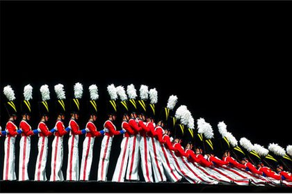 The Rockettes at the Radio City Music Hall Christmas Spectacular
