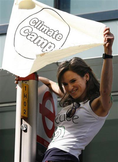Climate change is also a G20 protester issue