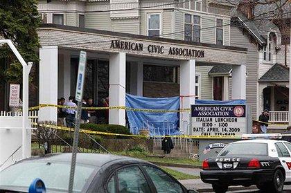Outside the American Civic Associatin