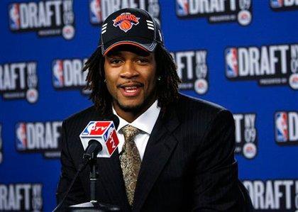 The Knicks' draft pick: Jordan Hill of Arizona
