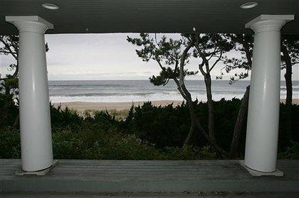 The Atlantic Ocean beyond