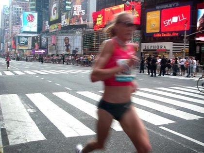 Paula Radcliffe is FAST