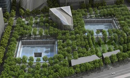 Rendering of the WTC Memorial