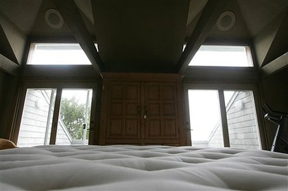 The view from Bernie and Ruth's bed!