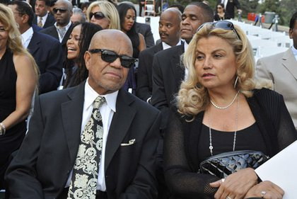 Motown founder Berry Gordy and music executive Suzanne de Passe
