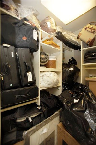 Inside Madoff's apartment, with his and wife Ruth's belongings