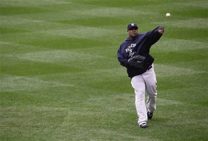 CC Sabathia gets some throws in