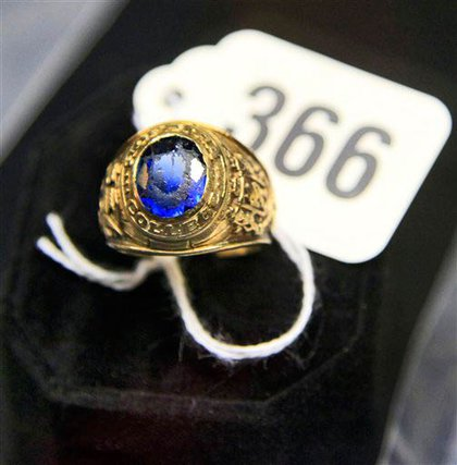 Madoff's Hoftra College ring
