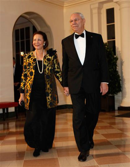 Alma Powell and General Colin Powell