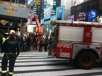 The FDNY was there.