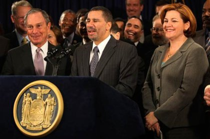 In April Governor Paterson announced that he would propose gay marriage legislation this year, which he did. Of course, it got stalled by the State Senate until December, where it wasvoted down.