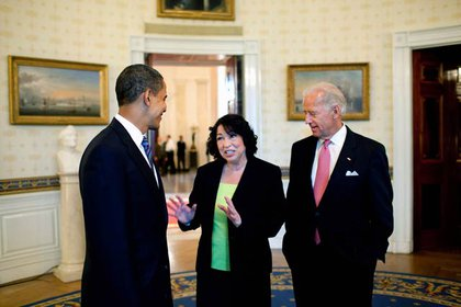 "Sonia Sotomayor, a Bronx native, was nominated by President Obama to the Supreme Court, noting her compelling story and bringing pride to the city.  In spite of her ""Wise Latina"" remark (and being branded a reverse racist, Sotomayor was confirmed and became the third female and first Hispanic justice."