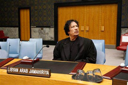 Libyan leader Moammer Gadhafi roared back into the New York frame of mind when two things happened: First, Lockerbie bomber Abdelbaset Ali al-Megrahi was released from Scottish prison on compassionate grounds.  With many of the victims from NY and NJ, there was a chorus of unhappiness over the decision—and the apparent hero's welcome al-Megrahi received in Tripoli.Then Gadhafi made his way to speak at the United Nations General Assembly for the first time in September. Not only was his couldn't take it, he caused a hubbub in NJ and NY over where to place his elaborate Bedouin tent!