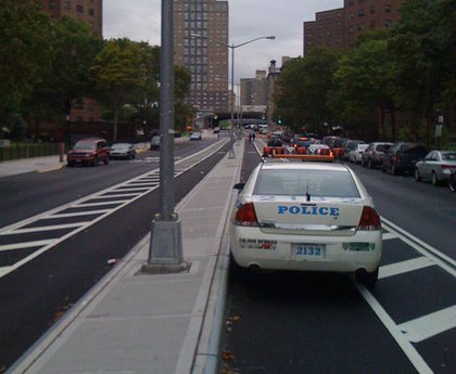 Pitched battles were fought for street space this year. Though the DOT reached its goal of adding 200 more miles of bike lanes, bicyclists have been upset at motorists who block the lanes with impunity. Clowns rallied to liberate the bike lanes from vehicular oppression, while in Williamsburg, the Kent and Bedford Avenue bike lanes sparked an inferno of controversy. Some in the predominantly Hasidic South Williamsburg neighborhood succeeded in pressuring the city to remove part of the Bedford bike lane, prompting direct action protests, and a topless bike ride that wasn't. Someday this bike lane war's gonna end, but with more cyclists than ever commuting by bike (and finally being allowed to bring their wheels inside offices), we expect it to rage on in 2010.