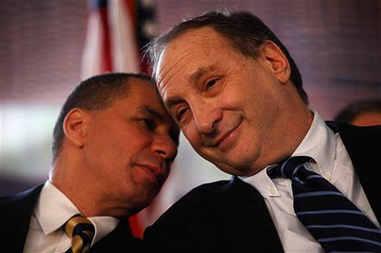 Governor Paterson and Bruce Ratner