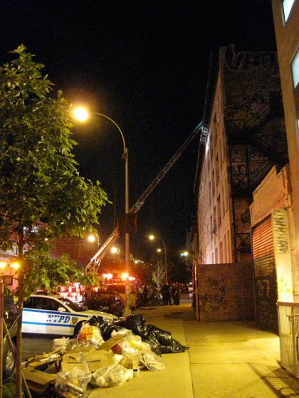 The FDNY's ladder