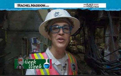 Rachel Maddow, underground