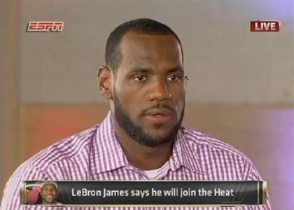 LeBron DECIDES to go to Miami