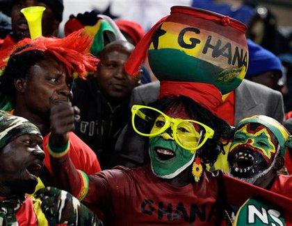 Ghanian fans
