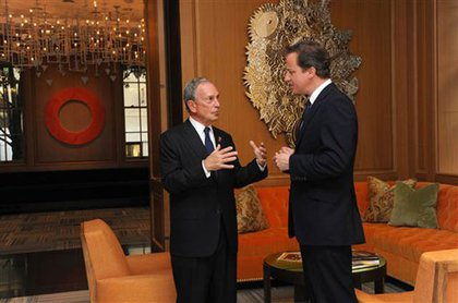 Bloomberg and Cameron