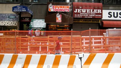 Construction, chain stores, mom and pop stores