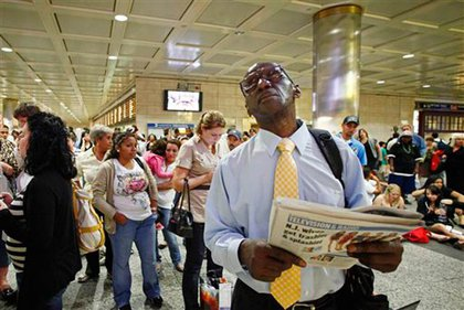 Hoping for a way out of Penn Station