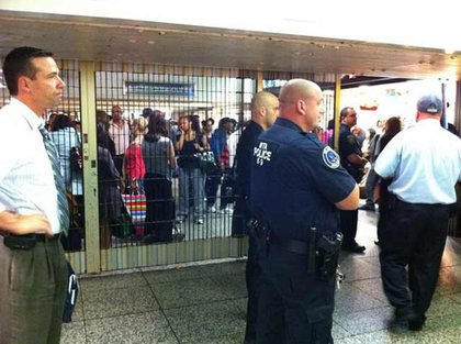 """""""Penn Station has us on a prison style lockdown, which hopefully gives me carte blanche to shank someone."""""""