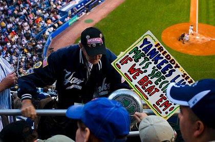 At a 2007 Yankees game