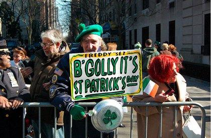 At last year's St. Patrick's Day Parade