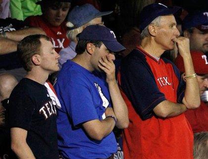 Rangers fans react