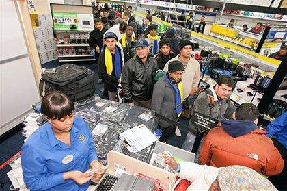 Line for cash register