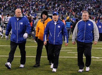 Tom Coughlin was NOT happy.  Did you see him throw his clipboard down?