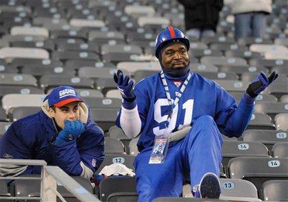 A Giants fan wonders WTF is going on.