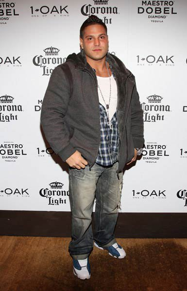 No Sweetheart here: Ronnie from Jersey Shore