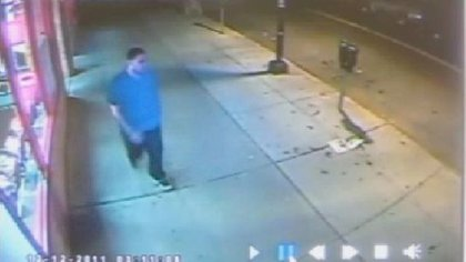 Surveillance video of the second suspect in the murder of Officer Figoski.
