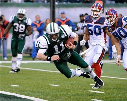 Kellen Clemens, the Jets' back-up, back-up quarterback