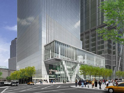 A rendering of 4 World Trade Center